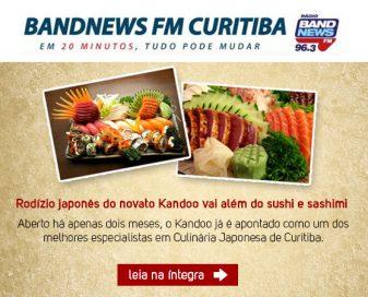 Rodízio japonês do novato Kandoo vai além do sushi e sashimi