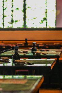 Banner mostrando mesas do restaurante Kandoo