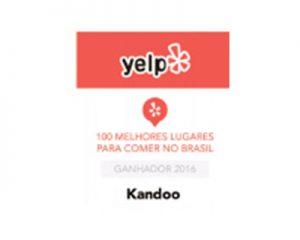 Yelp - 100 melhores lugares para comer no Brasil