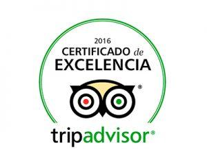 Selo Certificado de Excelência Trip Advisor